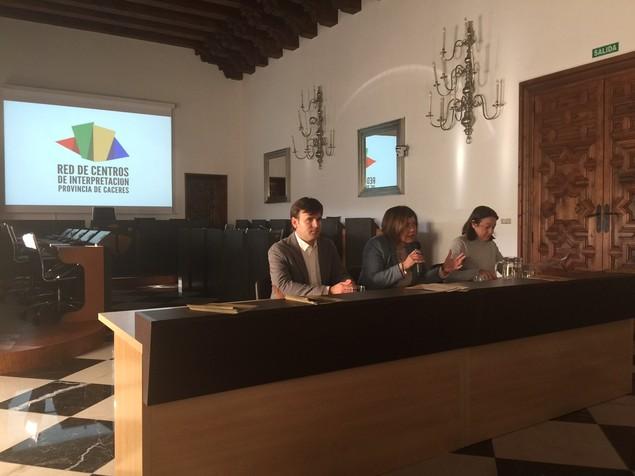 Escuelas Viajeras en la Red de Centros de Interpretación de la Provincia de Cáceres