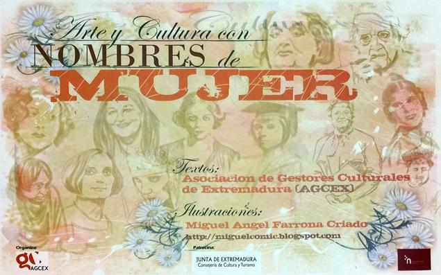 """Exposición """"Arte y Cultura con Nombres de Mujer"""""""