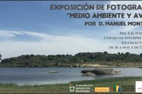 """Exposición de Fotografía """"Medio Ambiente y Aves"""" de Manuel Montero-image"""