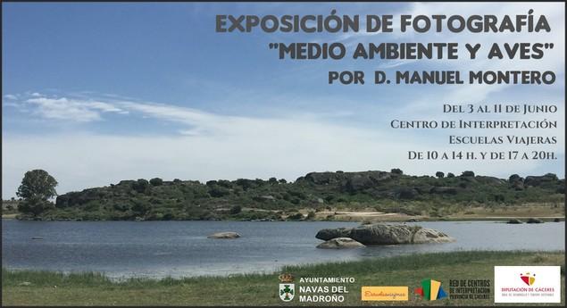 """Exposición de Fotografía """"Medio Ambiente y Aves"""" de Manuel Montero"""